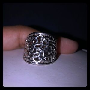 Jewelry - Silver ring and earrings